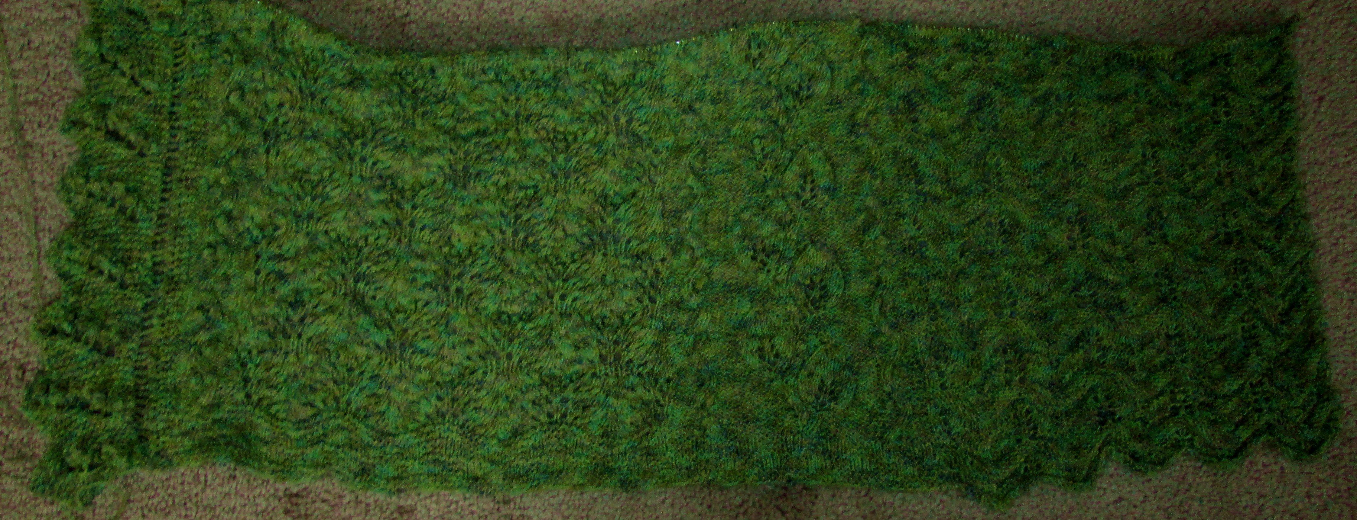 Leaf Panel – Free Knitting Pattern | Lemon Balm