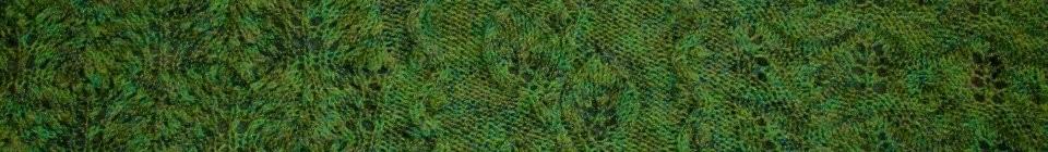 Leaf Panel   Free Knitting Pattern Lemon Balm
