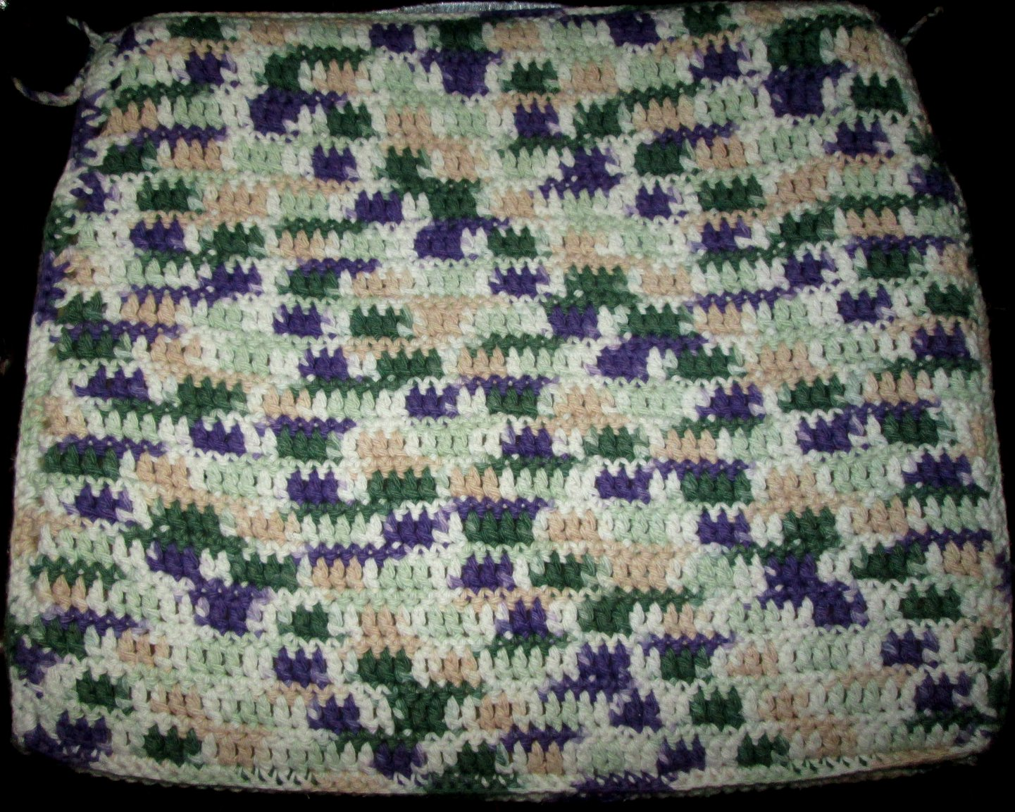 Crochet Baby Blanket Patterns Variegated Yarn : variegated yarn Lemon Balm